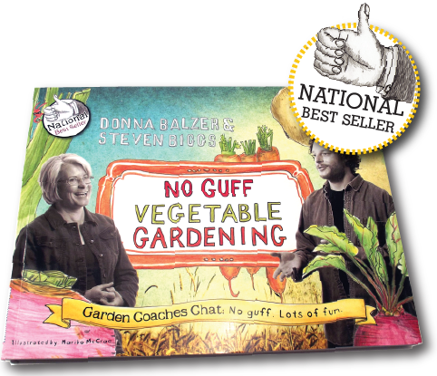 No Guff Gardening Book cover