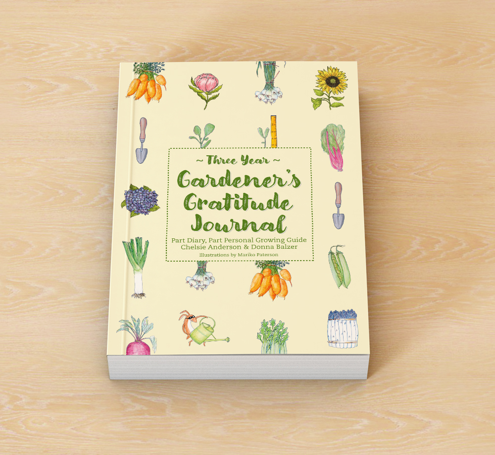 3 Year Garden Journal Cover